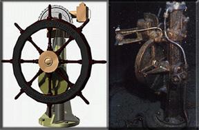 Quelques objets remontés - Some objects reassembled Barre