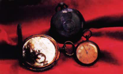 Quelques objets remontés - Some objects reassembled Montre